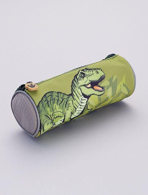 Estuche 'dinosaurio'                             caqui