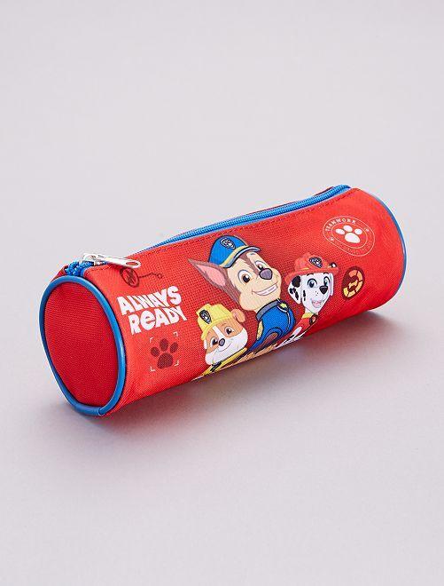 Estuche redondo 'La Patrulla Canina'                             rojo