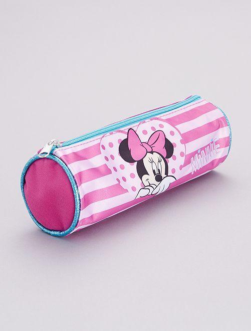 Estuche redondo 'Minnie' de 'Disney'                             rosa