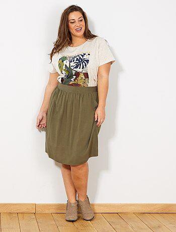 0fe84a30c Rebajas faldas cortas en tallas grandes de mujer baratas- moda ...