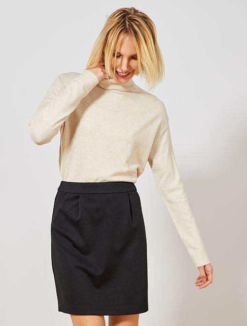 Falda corta milano                                         negro