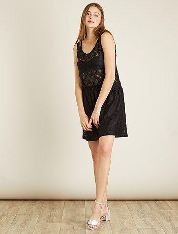 Mujer talla 34 to 48 - Falda de encaje 'JDY' - Kiabi