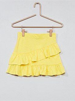 Vestidos, faldas - Falda de punto con volantes - Kiabi