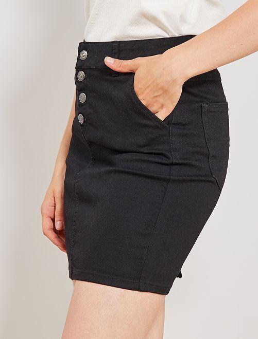 d56cec933 Falda de tejido vaquero elástico