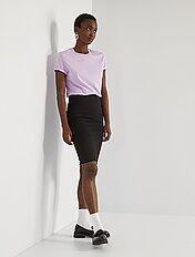 Falda de tubo de punto milano