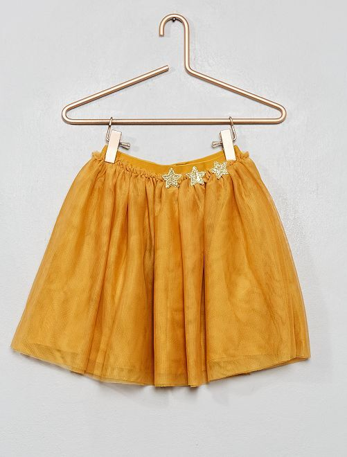 Falda de tul                                                                 AMARILLO