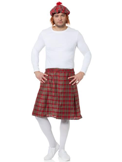 Falda escocesa                                         rojo Hombre