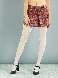 Mujer Falda escocesa