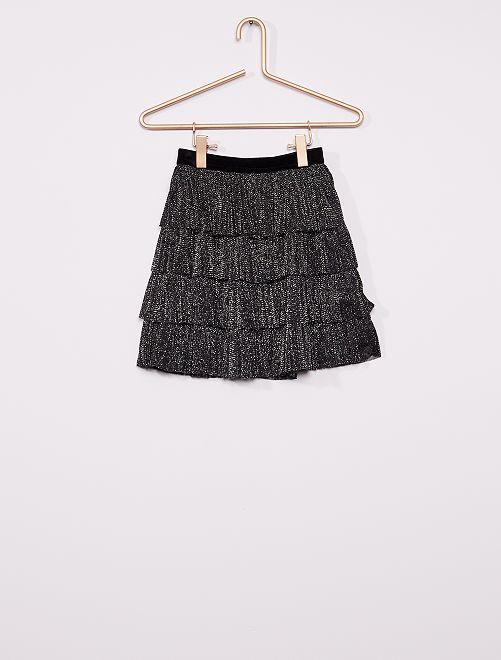 Falda estilo tutú                             negro