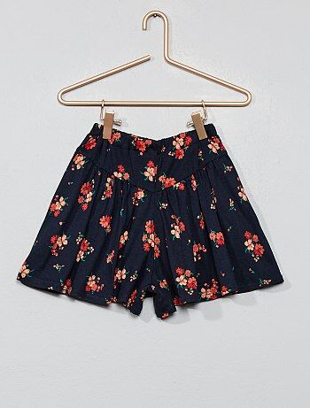 6fd34f4460 Falda pantalón de flores - Kiabi