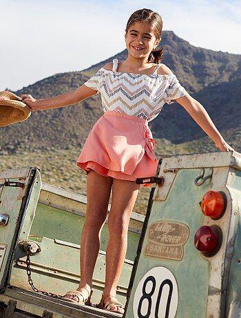 eb813e8f77 Rebajas vestidos de chica y faldas online | ropa de Chica | Kiabi