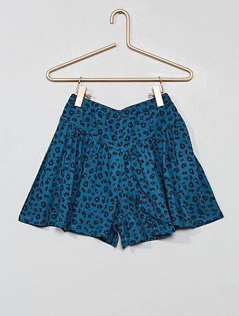 958e27438 Falda pantalón estampada - Kiabi