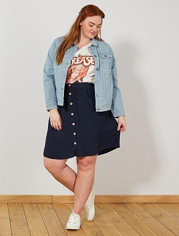 faldas de tallas grandes de mujer baratas - moda Tallas grandes ... a93f5ea04a41