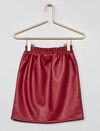 d68e2a20c Vestidos y faldas Niña   rojo   Kiabi