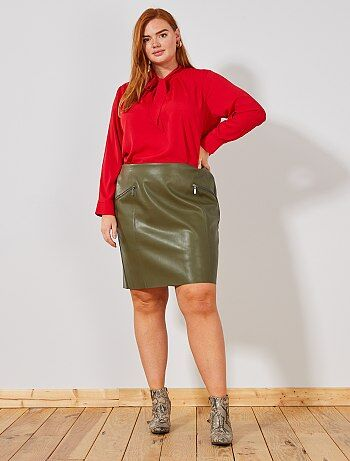4ca120ca1 Faldas cortas Mujer | verde | Kiabi