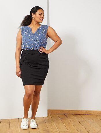 ffc734a0 Rebajas faldas de tallas grandes de mujer baratas - moda Tallas ...