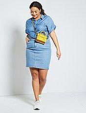 Faldas Vaqueras Mujer Talla 56 Kiabi