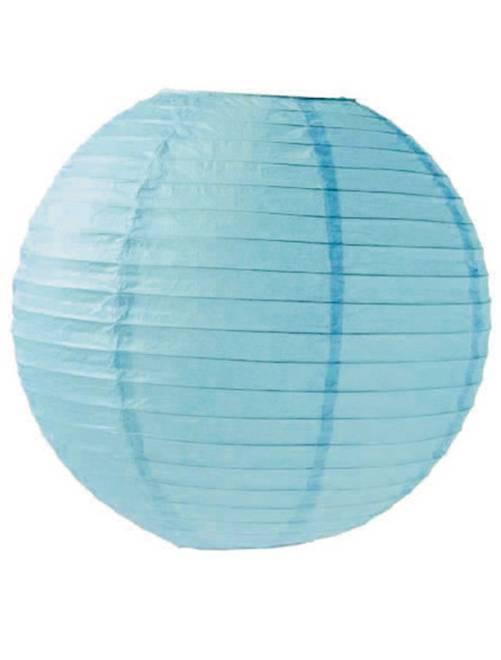 Farolillo chino de papel 15 cm                                                                     azul