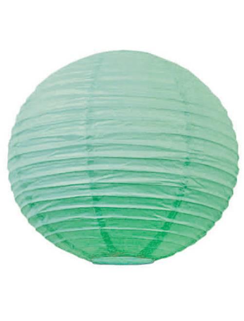 Farolillo chino de papel 15 cm                                                                                         verde