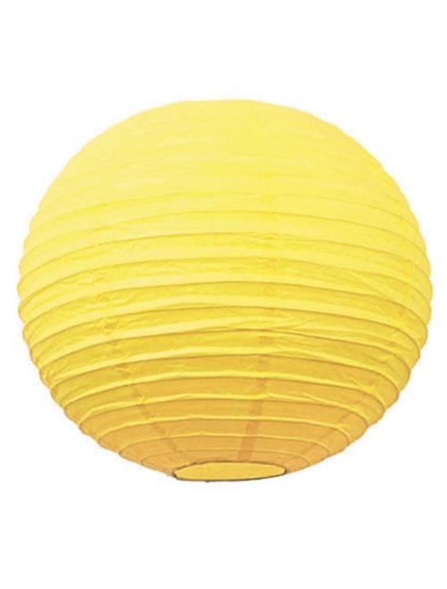 Farolillo chino de papel 35 cm                                                                                                                 amarillo