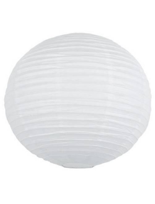 Farolillo chino de papel 35 cm                                                                                                                 blanco