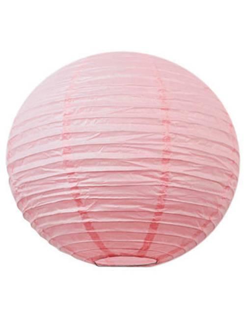 Farolillo chino de papel 35 cm                                                                 rosa