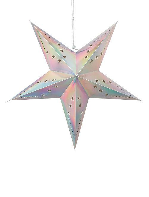 Farolillo de estrella 30 cm                                                                 multicolor