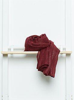 Pañuelos - Fular rectangular de gasa suave irisada - Kiabi