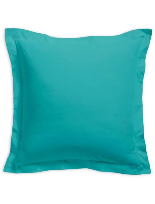 Funda de almohada lisa 100 % algodón