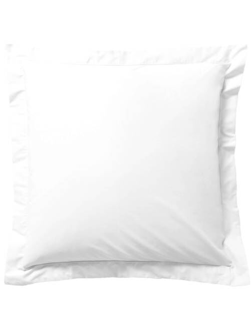 Funda de almohada lisa                                                                                             blanco