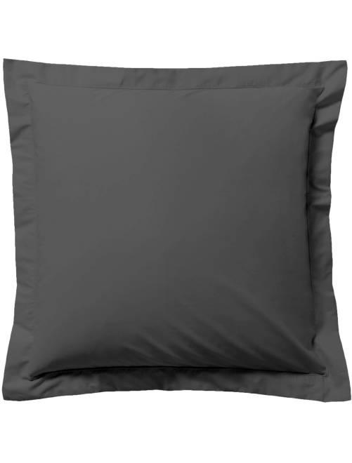 Funda de almohada lisa                                                                                                     gris antractita