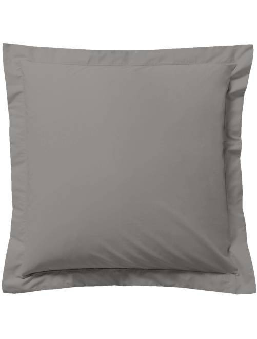 Funda de almohada lisa                                         gris