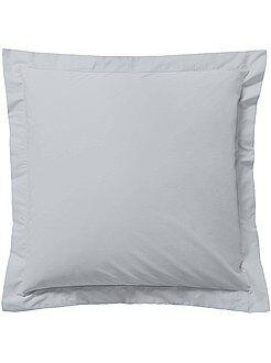 Funda de almohada lisa