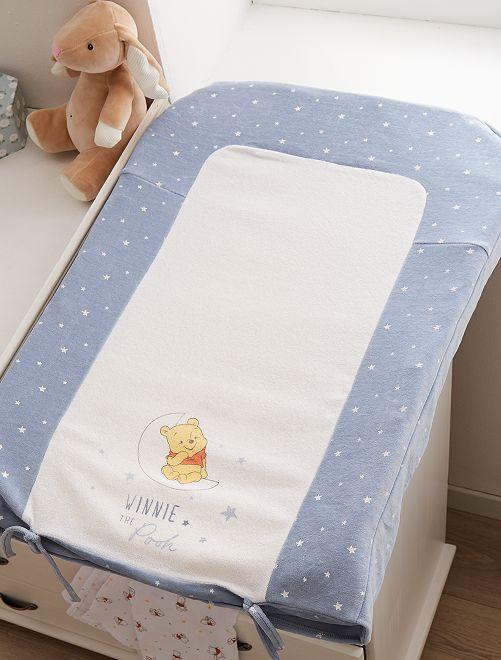 Funda de colchón cambiador 'Winnie'                             AZUL Bebé niño