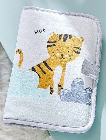 Niña 0-36 meses - Funda para cartilla sanitaria con estampado de 'tigre' - Kiabi