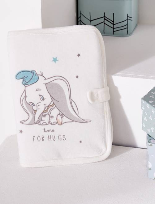 Funda para cartilla sanitaria 'Dumbo'                             BLANCO
