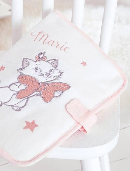 Funda para cartilla sanitaria 'Los Aristogatos'                              rosa Bebé niña