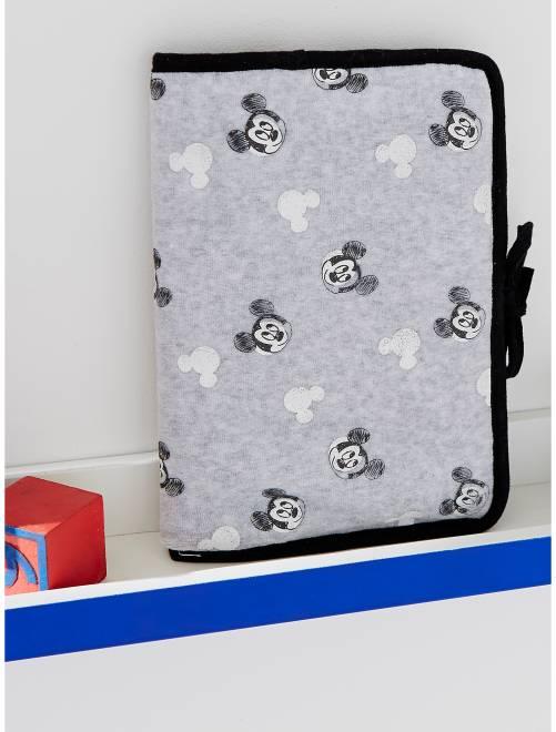 Funda para cartilla sanitaria 'Mickey Mouse'                             azul Bebé niño