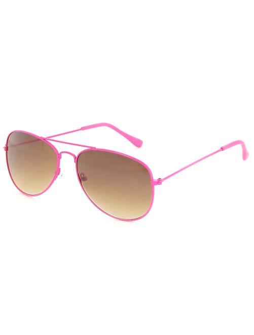 Gafas de aviador fluorescentes                             rosa Accesorios