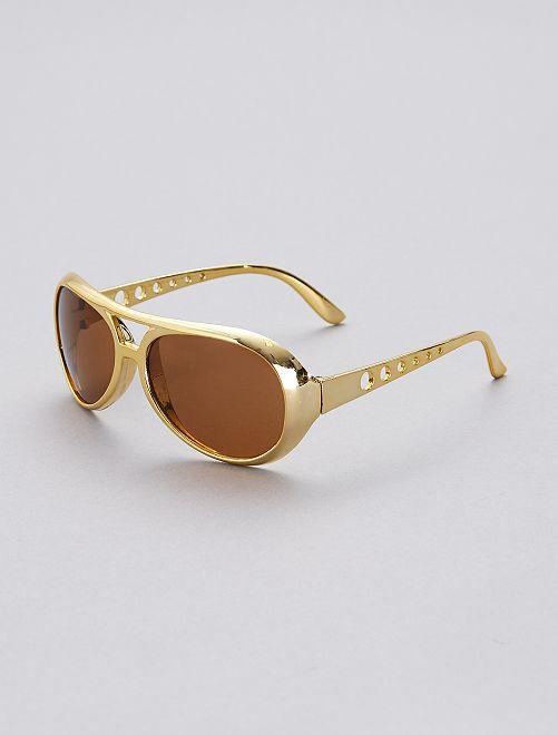 Gafas de Elvis                             amarillo
