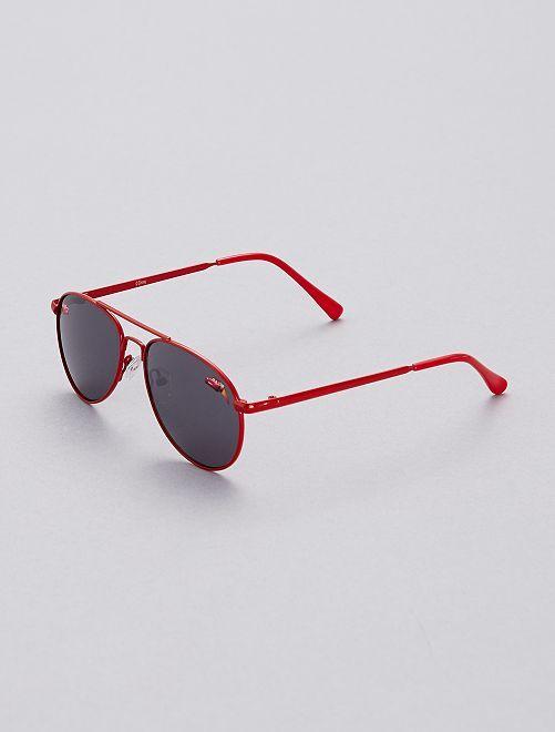 Gafas de sol 'Cars'                             rojo Chico
