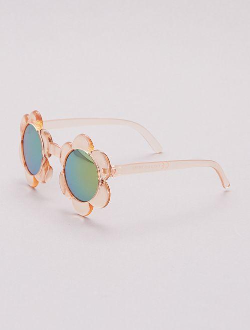 Gafas de sol con forma de flor                             ROSA
