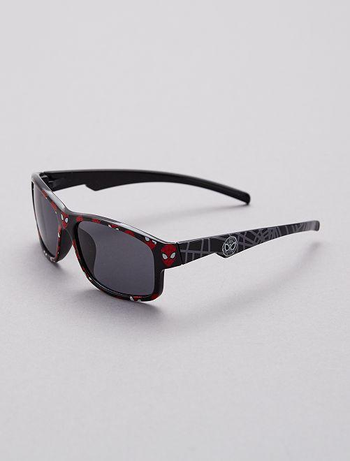 Gafas de sol de 'Spider-man'.                             negro/rojo Chico