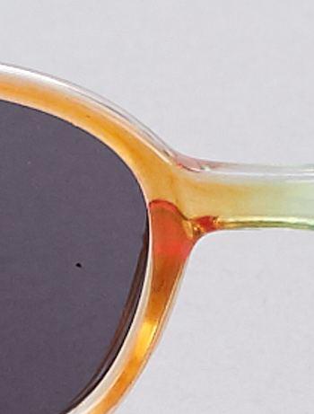 496f713bd7 ... Gafas de sol multicolores vista 3. Gafas de sol multicolores multicolor  Chica