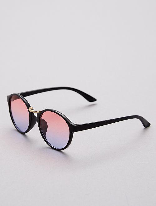 Gafas de sol redondas                     negro Chica