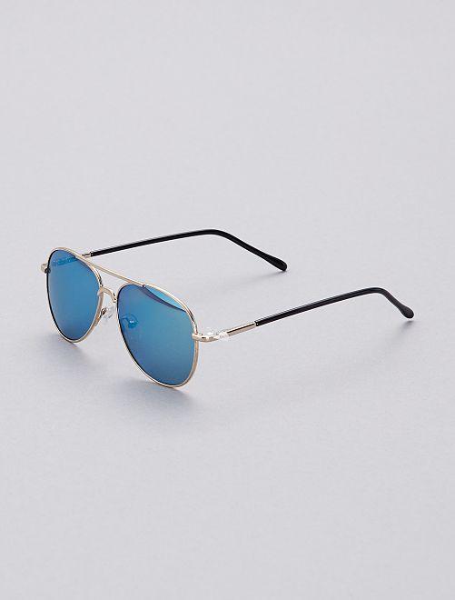 Gafas de sol tipo aviador                             oro Chico