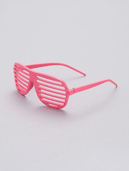 Gafas estriadas                                                                             rosa