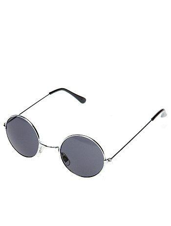Accesorios - Gafas redondas de hippie - Kiabi