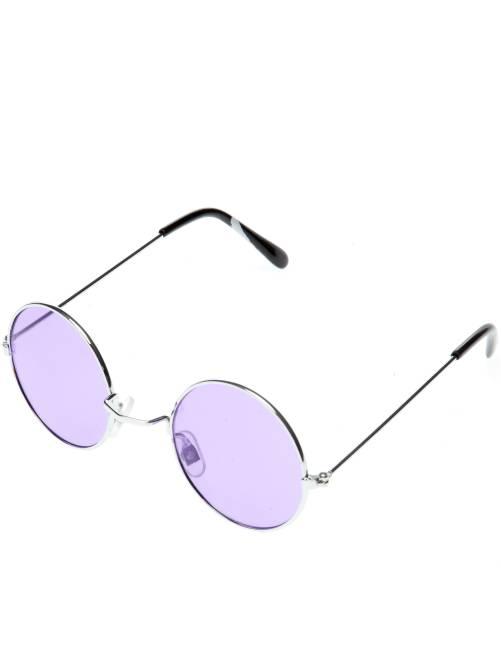 Gafas redondas de hippie                                                                                         violeta Accesorios