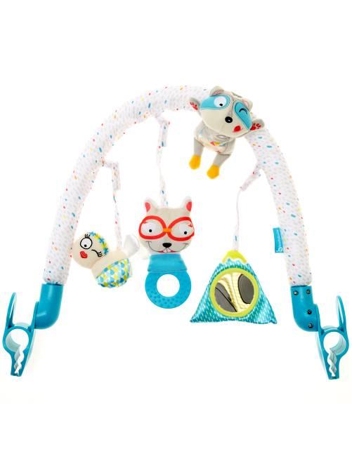 Gimnasio de actividades universal gris/azul Bebé niña